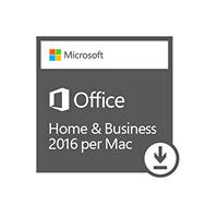 Software MICROSOFT OFFICE HOME & BUSINESS 2016 PER MAC ESD su Mediaworld.it