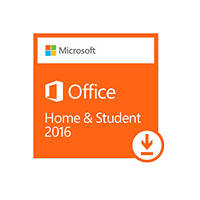 Software MICROSOFT OFFICE HOME & STUDENT 2016 PER PC ESD su Mediaworld.it