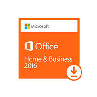 Software MICROSOFT OFFICE HOME & BUSINESS 2016 PER PC ESD su Mediaworld.it