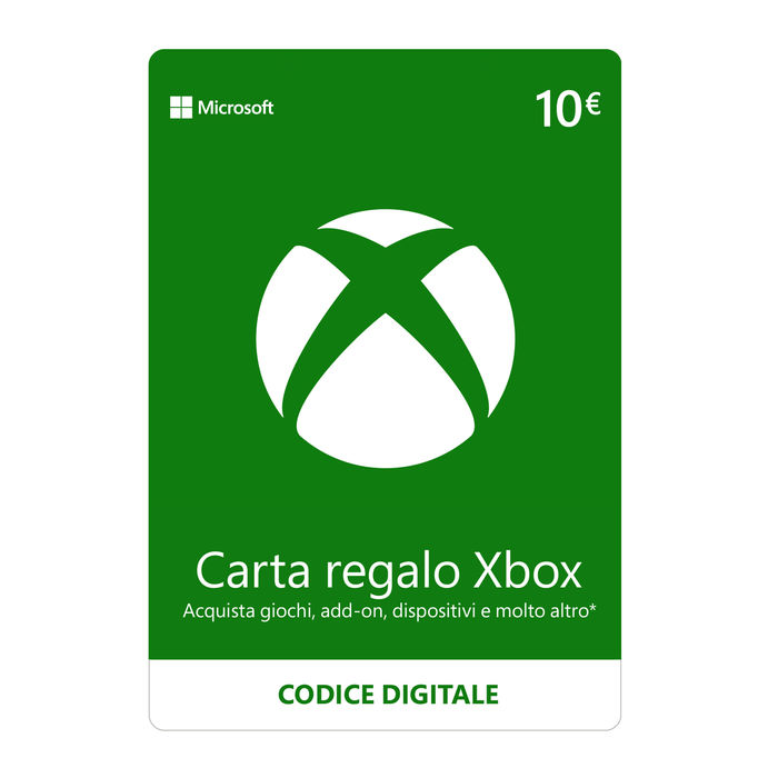 MICROSOFT Gift Card XBox Live 10€ ESD - thumb - MediaWorld.it