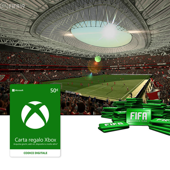 MICROSOFT Gift Card XBox Live 50€ ESD - thumb - MediaWorld.it