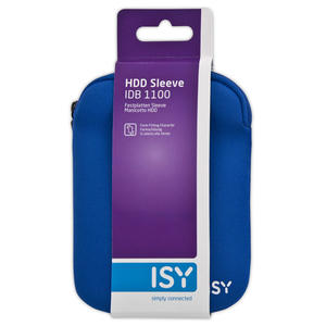"ISY Custodia Sleeve per HDD 2.5"" Blu - MediaWorld.it"