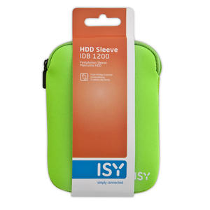"ISY Custodia Sleeve per HDD 2.5"" Verde - thumb - MediaWorld.it"