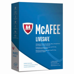 MCAFEE Live Safe - 1User/Dispositivi Illimitati - PRMG GRADING ONBN - SCONTO 15,00% - thumb - MediaWorld.it