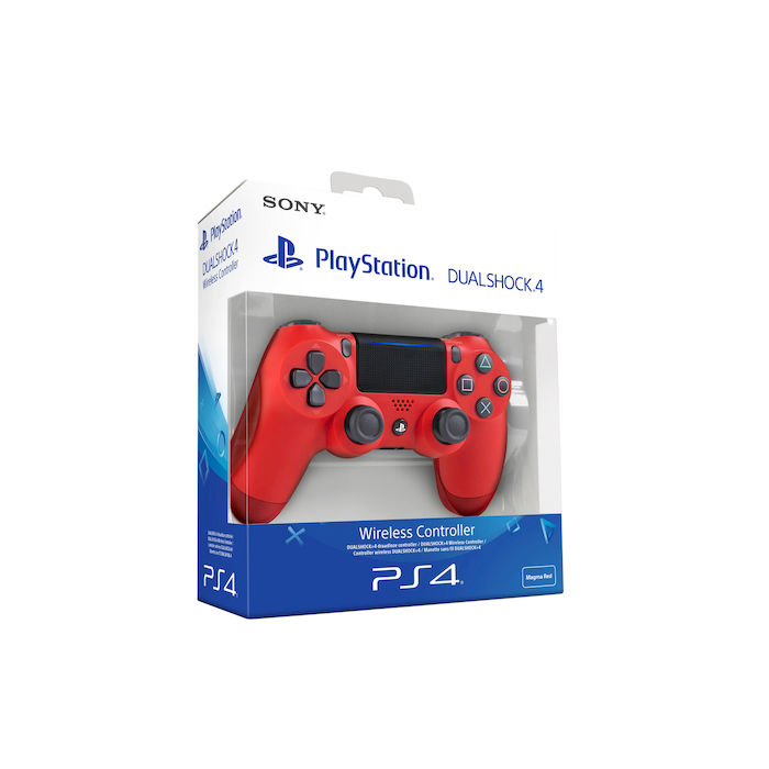 SONY PS4 Controller Dualshock V2 Magma Red - thumb - MediaWorld.it