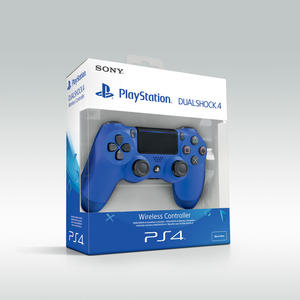 SONY PS4 Controller Dualshock V2 Wave Blue - thumb - MediaWorld.it