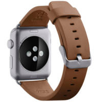 Cinturino classico in pelle per Apple Watch 38 mm BELKIN CINTURINO PELLE WATCH 38MM MARRONE su Mediaworld.it