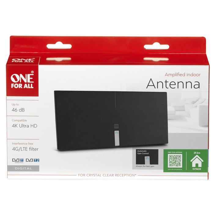ONE-FOR-ALL ANTENNA INT DVB-T/T2 - PRMG GRADING OOBN - SCONTO 15,00% - thumb - MediaWorld.it