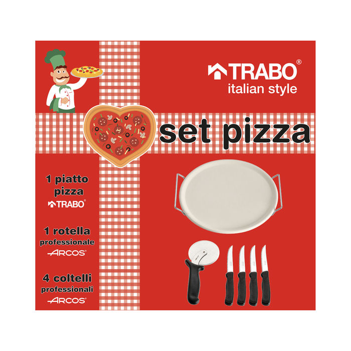 TRABO Set Pizza BM01T - thumb - MediaWorld.it