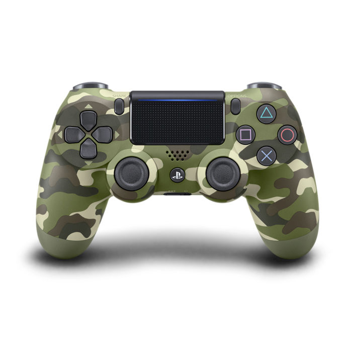 SONY PS4 Controller Dualshock V2 Green Camouflage - thumb - MediaWorld.it
