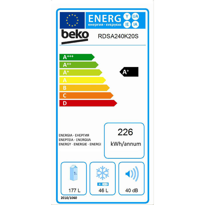 BEKO RDSA240K20S - thumb - MediaWorld.it