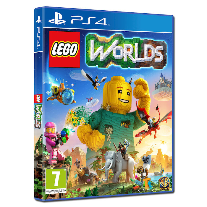 LEGO Worlds - PS4 - thumb - MediaWorld.it