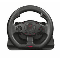 Volante da corsa GXT 580 con feedback a vibrazione TRUST GXT 580 Vibration Feedback Racing Wheel su Mediaworld.it