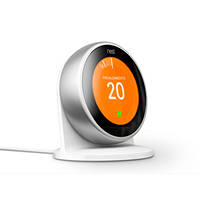 Supporto per il termostato Nest Learning Thermostat NEST Stand for Learning Thermostat  Bianco su Mediaworld.it