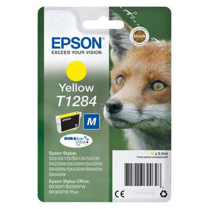 EPSON DURABrite Ultra T1284 Giallo Volpe - thumb - MediaWorld.it