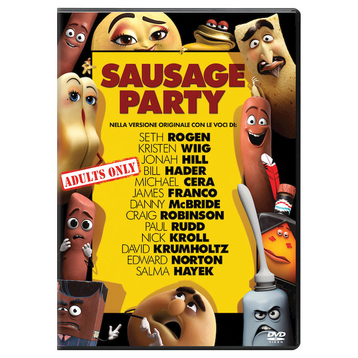 UNIVERSAL PICTURES SAUSAGE PARTY DVD - thumb - MediaWorld.it