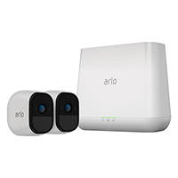 Kit di videosorveglianza HD con 2 videocamere senza fili night/day NETGEAR ARLO PRO VMS4230-100EUS su Mediaworld.it