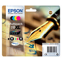 Cartuccia EPSON DURABrite Ultra T1636 Multipack Penna e cruciverba su Mediaworld.it