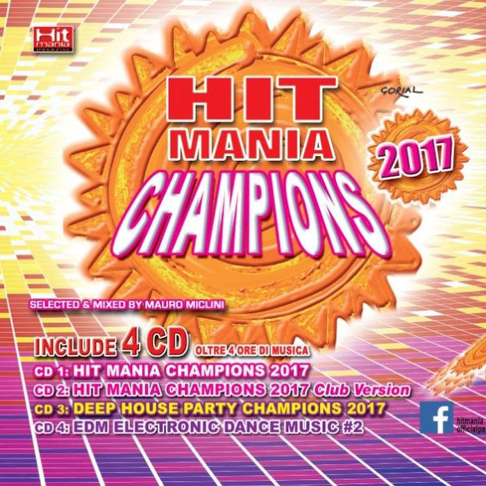 AA.VV. - Hit Mania Champions 2017 - CD - thumb - MediaWorld.it