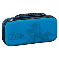 Custodia di trasporto  DELUXE 'ZELDA' per Nintendo Switch BIG BEN Custodia Deluxe Ufficiale Zelda NNS42 Blue su Mediaworld.it