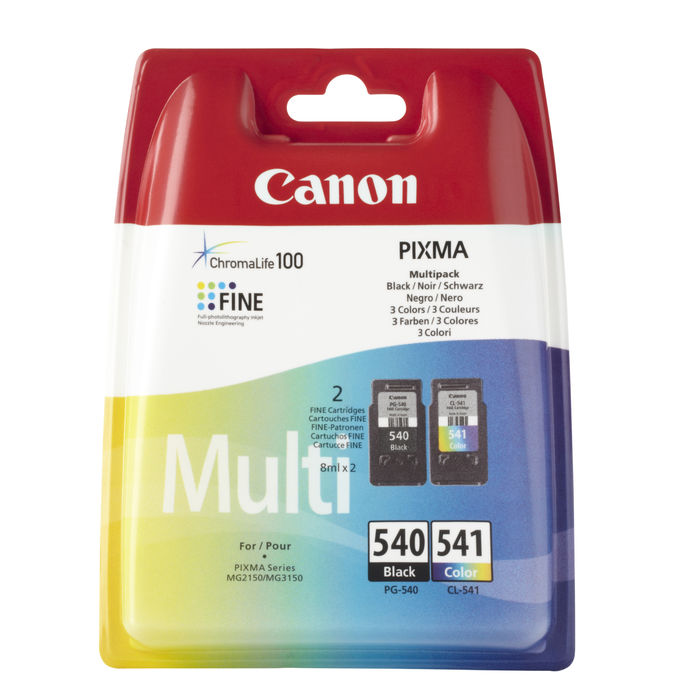 CANON MULTIPACK PG-540/CL-541 - thumb - MediaWorld.it