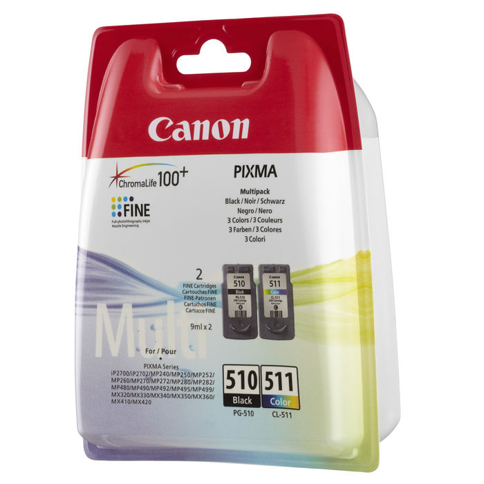 CANON MULTIPACK PG-510/CL-511 - thumb - MediaWorld.it
