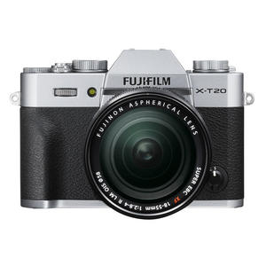 FUJIFILM X-T20 +XF18-55MM SILVER - MediaWorld.it