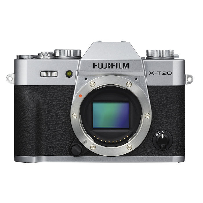 FUJIFILM X-T20 BODY SILVER - thumb - MediaWorld.it