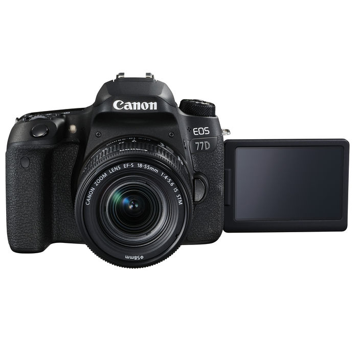 CANON EOS 77D+EFS18-55/4-5.6 IS - thumb - MediaWorld.it