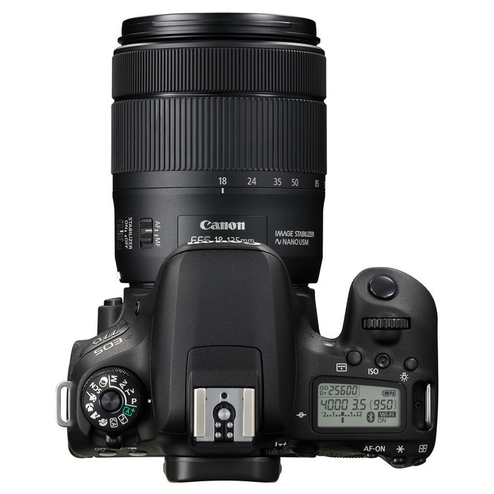 CANON EOS 77D+EFS 18-135 IS USM - thumb - MediaWorld.it