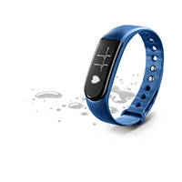 Braccialetto sport touch cardio Bluetooth CELLULAR LINE EASY FIT HR BLU su Mediaworld.it