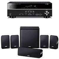 Sistema Home Theatre 5.1 YAMAHA YHT-2940 BLACK su Mediaworld.it