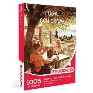 EMOZIONE3 Fuga con Cena - thumb - MediaWorld.it