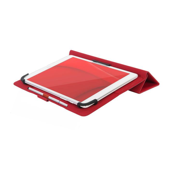 "TUCANO Custodia Universale per Tablet da 10"" Rosso - thumb - MediaWorld.it"