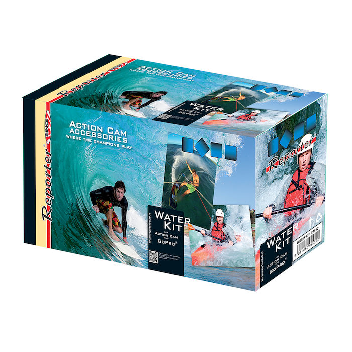 REPORTER WATER KIT PER ACTION CAM - PRMG GRADING OOBN - SCONTO 15,00% - thumb - MediaWorld.it