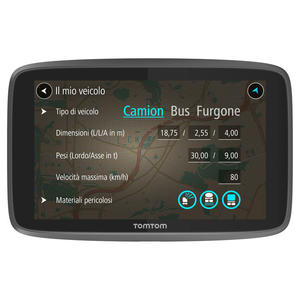 TOMTOM Go Professional 6200 Europa 48 Nazioni - MediaWorld.it