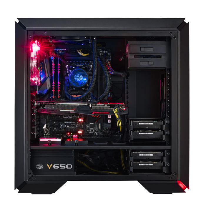 COOLERMASTER Mastercase Pro 6 Red Led - thumb - MediaWorld.it