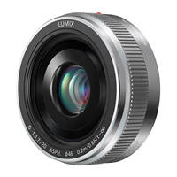 obiettivo fisso mirrorless PANASONIC H-H020AE-S SILVER su Mediaworld.it