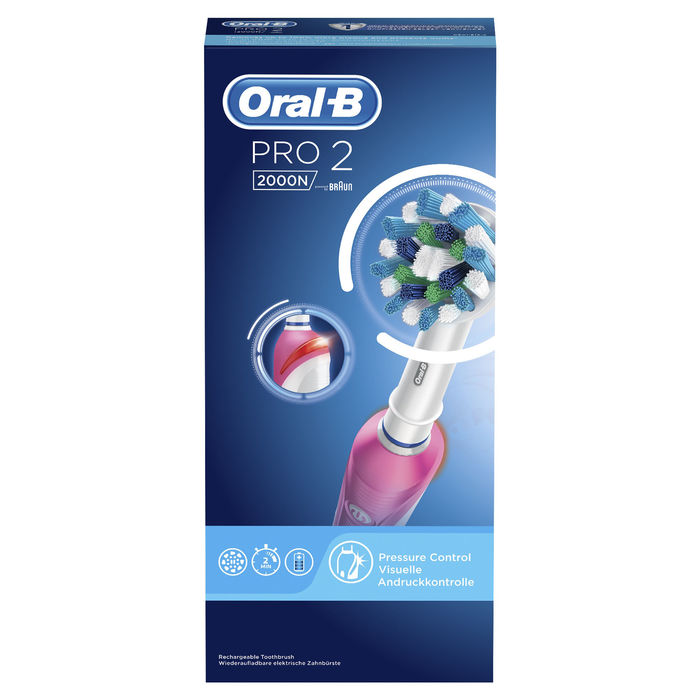 ORAL B Pro 2000 Pink - thumb - MediaWorld.it