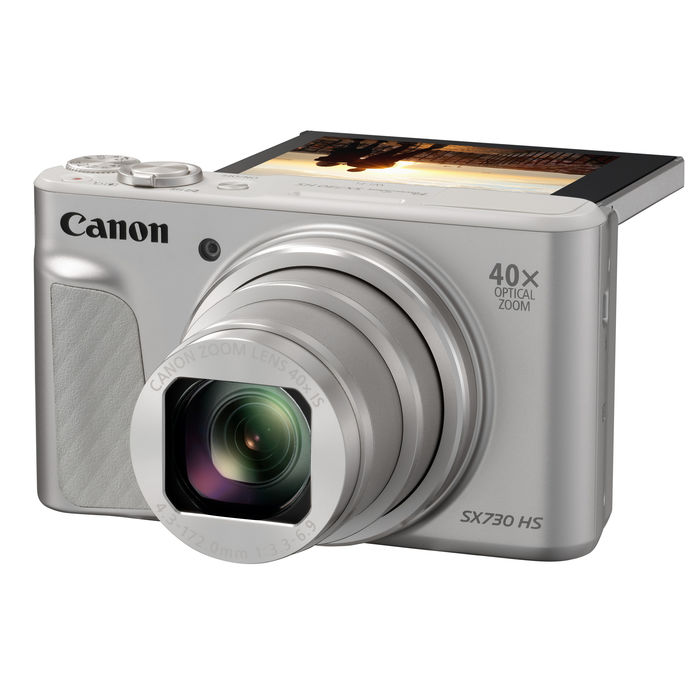 CANON POWER SHOT SX730 SILVER - thumb - MediaWorld.it