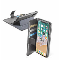 Custodia Book per IPHONE X CELLULAR LINE Custodia a libro Agenda nera - iPhone X su Mediaworld.it