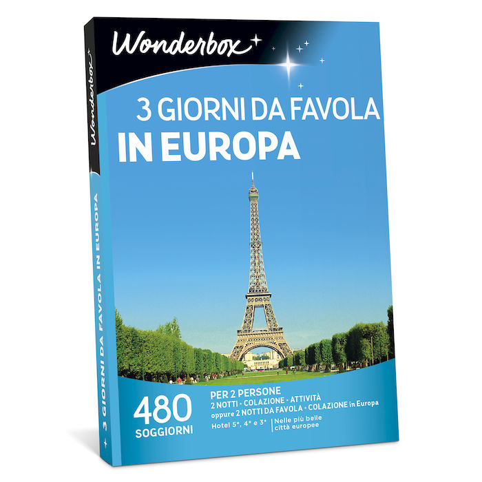 WONDERBOX 3 giorni da favola in Europa - thumb - MediaWorld.it