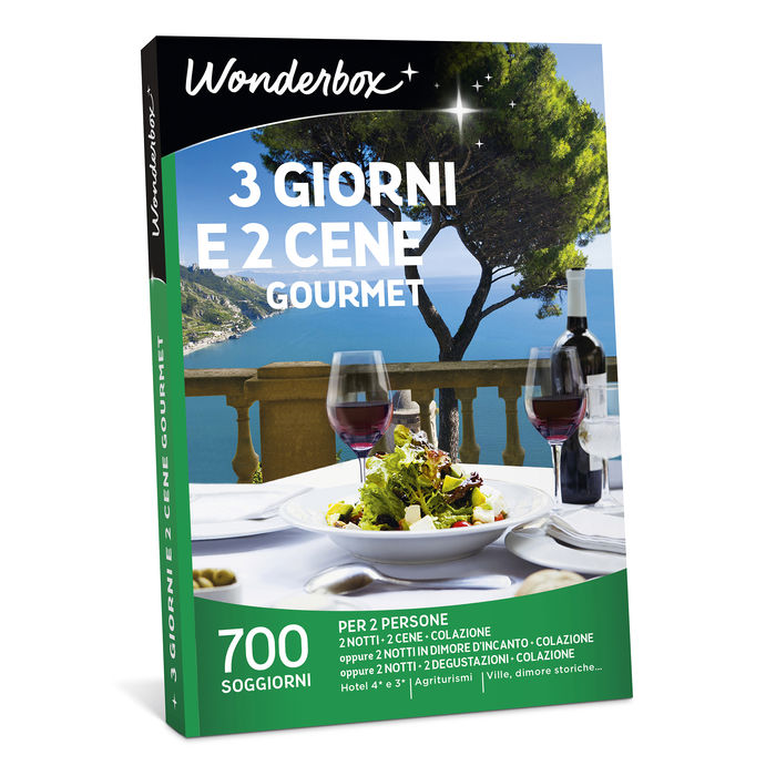 WONDERBOX 3 Giorni E 2 Cene Gourmet - thumb - MediaWorld.it
