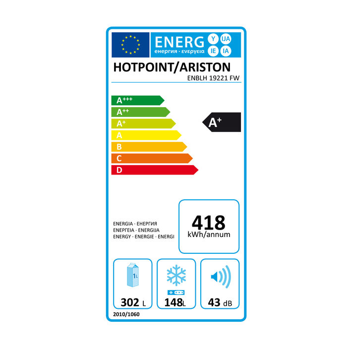 HOTPOINT ARISTON ENBLH 19221 FW - thumb - MediaWorld.it