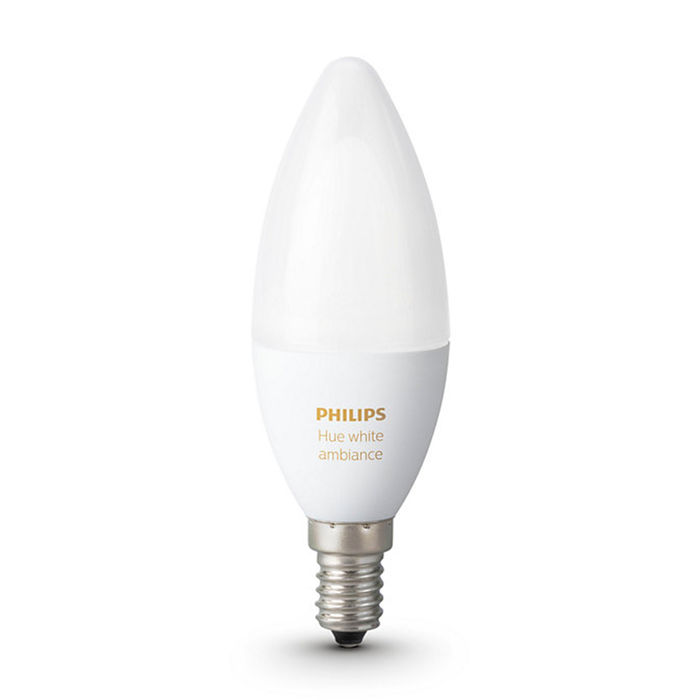 PHILIPS Hue White Ambiance E14 - thumb - MediaWorld.it