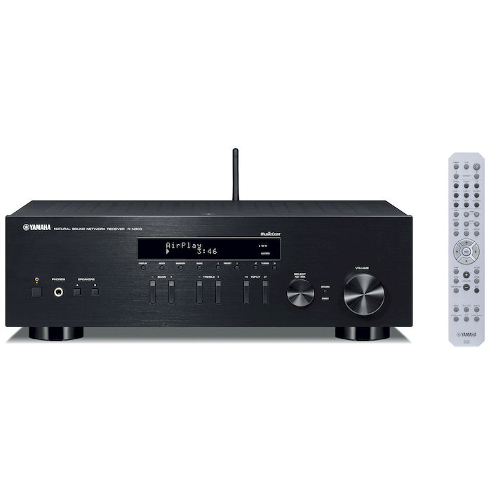 YAMAHA R-N303BL Black - PRMG GRADING KOCN - SCONTO 35,00% - thumb - MediaWorld.it