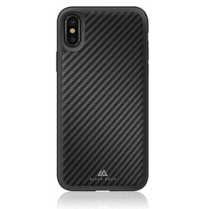 BLACK ROCK REAL CARBON COVER IPHONE X - MediaWorld.it