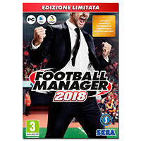 Gioco PC Football Manager 2018 (Limited Edition) - PC su Mediaworld.it