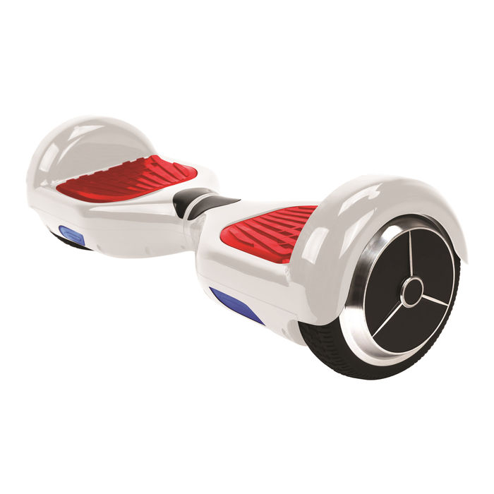 "ICONBIT MEKOTRON H.6 white hoverboard 6,5"" - thumb - MediaWorld.it"