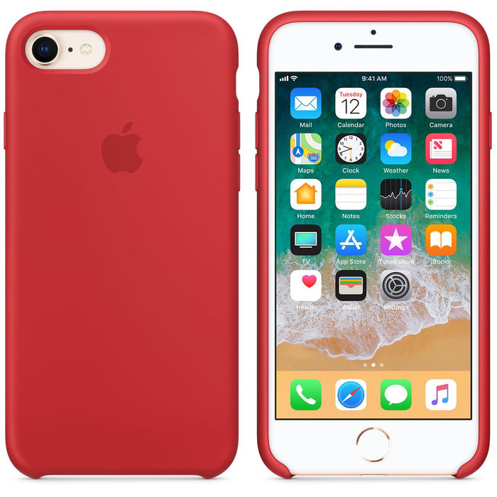 APPLE Cover iPhone 8/7 Red - thumb - MediaWorld.it